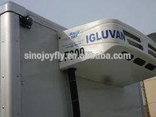 refrigerator van truck used aluminum sheet/corrugated steel cargo dry van body