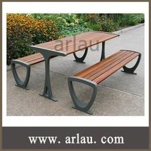 (TB-038) Garden Wood Dining Table Set