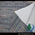 fios de lã estilo impresso escovado tecido