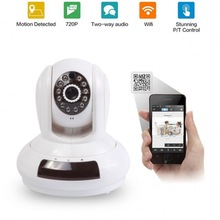 Home Security WPS Two Way Talk Push Notifications TF Card Night Vision 10meters IR Range Cloud Service 3g sim card ip camera