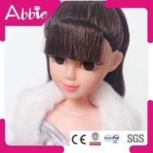 New Arrivel 11 Inch Plastic Fashion Doll Dress up Beautiful Girl Wholesale Doll
