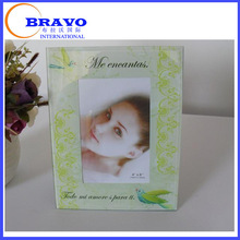 Lucite photo frame with paintings/Plexiglass paintings picture frame /Acrylic paintings