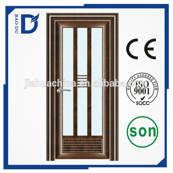 Aluminium salle de bains portes pour d coration de porte for Decoration porte aluminium