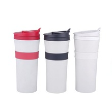 Hot Cold Double Wall Stainless Steel Thermal Mug Water Bottle Vacuum Insulated 450ml