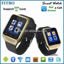 Wonderful ! MTK Dual Core 3G GSM WCDMA smart watch bluetooth phone