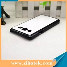 For Samsung A3 printing cases with metal insert personalized sublimation cover for mobile phone A3