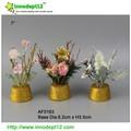 Casa ou decoração de casamento flor artificial barato flor artificial criativo flor artificial por atacado
