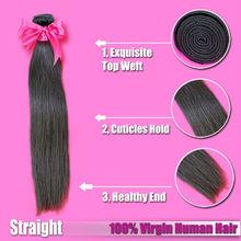 High Quality Cheap Price 8 10 12 12 Inch 4pcs/set Peruvian Straight Hair 4pcs