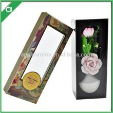 Ceramic Flower Aroma Diffuser , Home Air Freshener Use Fragrance Oil