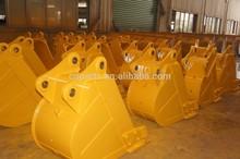 Mini excavator bucket for PC200-6 width 400mm 600mm