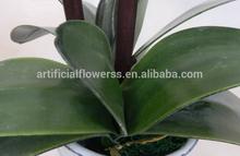 Home decor flowers artificial plastic pots for orchids