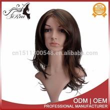 Top quality kanekalon natural texture women wig mono wig invisible wig