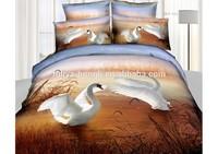 3d 100% cotton animal prints bed sheet set, cheap bed sheet sets