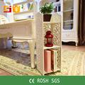 Para el hogar- gj de la moda moderna de madera blanca de almacenamiento de muebles
