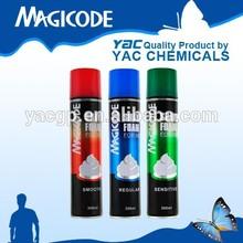 Shaving Foam Spray / Facial Cleanser OEM Cosmetics Manufacturer
