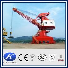 10ton pedestal crane