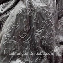 new style 100% polyester velvet drapery fabric