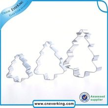 Cute hot sales aluminium alloy cookie cutter cutter