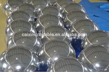 giant mirror ball for fashion show for bar, inflatable disco ball, PVC mirror ball