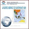 servicio de transporte marítimo y de los agentes en china