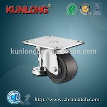 Industrial Plate Adjustable Removable Leveling Caster Wheels