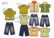 designer wear for boy 3 pieces set