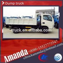 Dongfeng 95hp 4 x 4 mini caminhão 3.5 toneladas, Carvão chinês caminhão de mineração