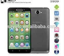 Original Lenovo S939 MTK6592 Octa Core Cell Phone 6'' HD IPS Android 4.2 1GB RAM 8GB ROM 8MP GPS Dual SIM WCDMA In Stock