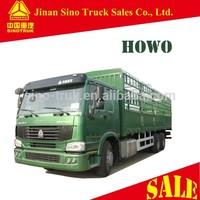 Sinotruk HOWO 6x4 cargo van truck for sale