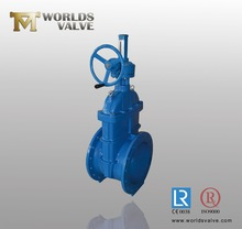 Ductile Iron /WCB gate valve with bevel gear operator