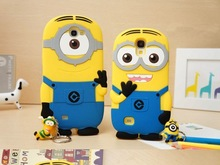Minions Despicable Me silicone mobile phone cover for iphone 6