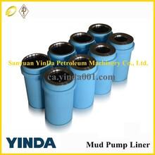 F Series Triplex Mud Pump Liner,API standard Mud Pump parts For Drilling Rig,high pressure pumps