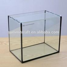 Modern simple table glass aquarium fish tank