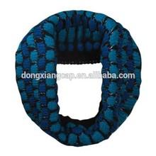 knitted loop scarf, loop scarf knitting pattern, circle loop scarf