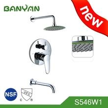 quality guarantee lever control bathroom shower faucet copper