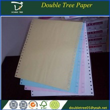 CB/CFB/CF Carbonless Ncr Paper with Bule Image