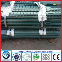 Best Price 6-ft Green Metal T Post Wholesale For Sale /7 ft studded metal t post (manufacturer)