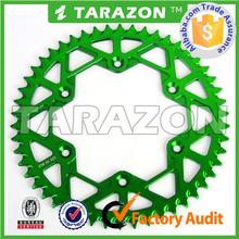 TARAZON brand cnc aluminum motorcycle sprocket off road rmz250