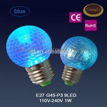 holiday lamp e27 b22 led christmas g40 led light bulb