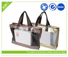 xusotm eco laminated nonwoven 2015 ladies cosmetic bag