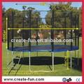 personalizado tamanho trampolim com aro de basquetebol