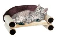 Reasonable Price eco-Friendly cosy shiny plush fabric cat sofa bedding