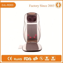 Car and Home Thermal Vibration Back Massager, Massage Cushion DJL-RD03