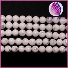 Deai Gems 8mm howlite round beads