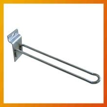 chrome metal Length150 slatwall pegs