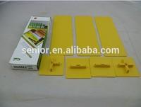 Drawer Divider Adjustable Plastic Storage Box File Cabinet Drawer Dividers