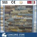 Pedra empilhada panel rústico cor ardósia