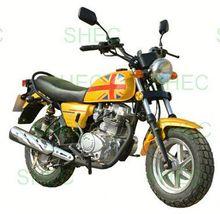 Motorcycle distinctive custom chopper motorcycle