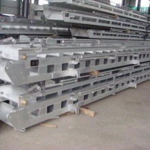Aluminum profile sections for outdoor