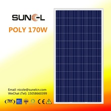 LDK 170W polycrystalline solar pv panel STOCK near to YIWU